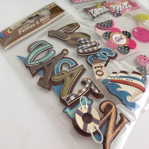 Adesivos/Stickers/Apliques